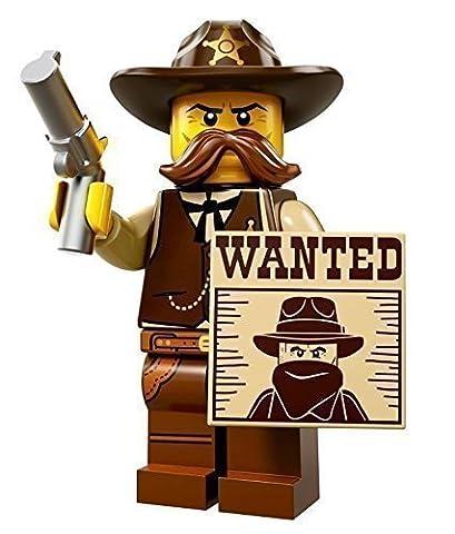 LEGO Figurines à Collectionner: Sheriff Mini-Figurine (Série 13)