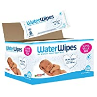 WaterWipes Super Value Box Baby Wipes - Pack of 9 Pouches x 60 Sheets, 540 Wipes