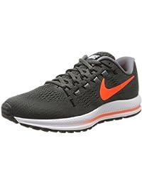 Nike - Air Zoom Vomero 12, Zapatillas de Running Hombre, Multicolor (Midnight Fog/total Crimson-cool Grey), 40 EU