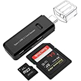 UNMCORE Super Speed USB 3.1 Type C Multi Function 5 GBPS Card Reader Adapter - Black