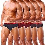 #9: Simon Robes Premium Assorted Men Briefs (Pack of 5)