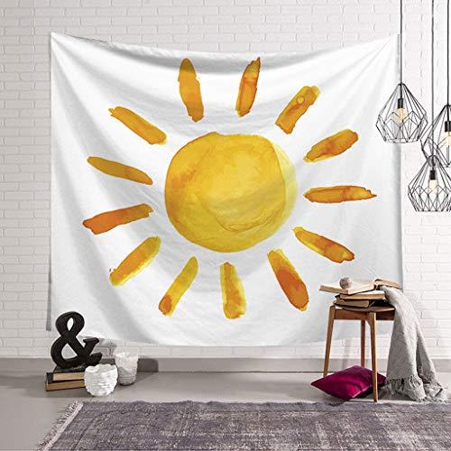 XHcloth Camera da Letto con arazzo Astrologia Tapestry Moon Art Appeso a Parete Camera da Letto, Dormitorio, Decorazione Soggiorno (Colore : A, Dimensioni : 200x150)