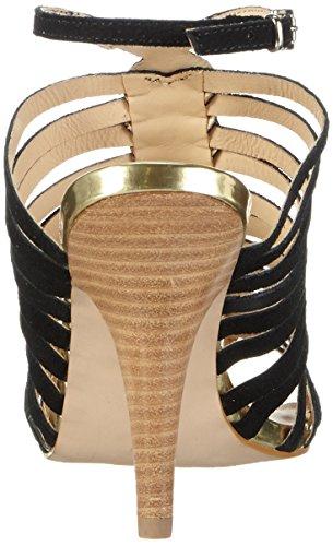 Primafila - 42-75523, Scarpe col tacco con cinturino a T Donna Nero (Nero (nero))