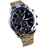 Clearance Watch Sunday77 Men's Date Machinery Digital Military Steel Quartz Chronograph Automatic Watch With Steel Stainless Bracelet Sport Business Stainless Watch