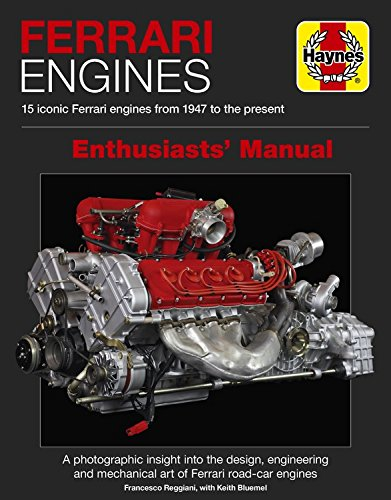 Ferrari Engines Enthusiasts' Manual: 15 Iconic Ferrari Engines from 1947 to the Present por Francesco Reggiani