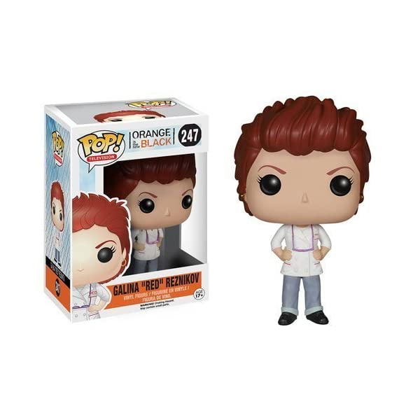 Orange is the New Black Galina Red Reznikov Pop Vinyl Figure by Orange is the New Black
