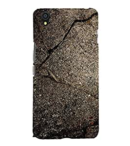 Fuson Premium Back Case Cover Rock pattern With Multi Background Degined For One Plus X::One + X