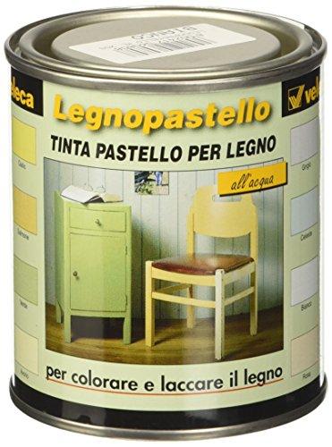 Veleca 8002417060808 Legnopastello, Tinta Pastello, Bianco