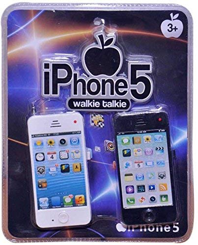 WP I Phone Wlakie Talkie for Kids - Black