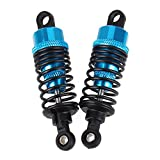 BQLZR 2 x Blue 69mm Upgraded Shock Absorbers 102004 Aluminum For HSP 1:10 RC Car