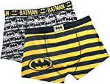 Batman DC Comics Herren Boxershorts 2er-Pack Schwarz M