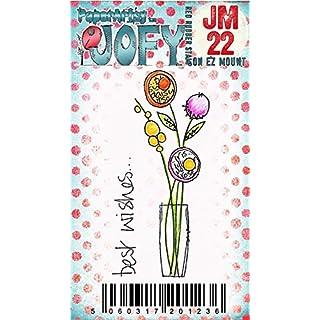 Paper Artsy JOFY Mini Rubber Stamp on Ez mount - Mini JOFY 22