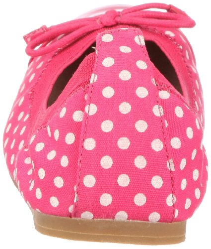 Buffalo London 210-2203 128776, Ballerines femme Rose-TR-L-1-21
