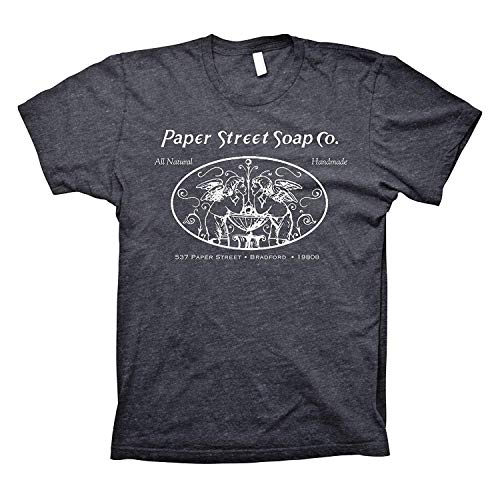 Paper Street Soap Company All Natural, Hand Made - Tyler Durden T-Shirt Dk. Heather XX-Large -