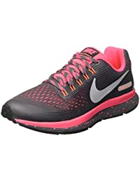 Nike Zoom Pegasus 34 Shield (Gs), Zapatillas de Running para Niñas