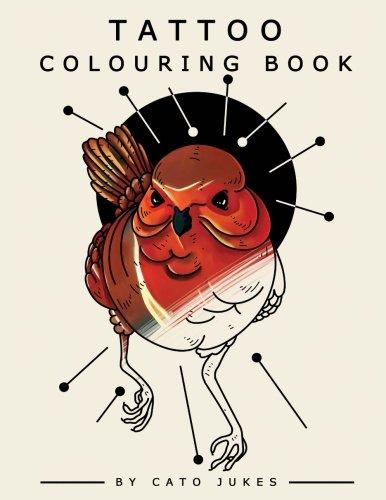 Tattoo: Colouring book por C J