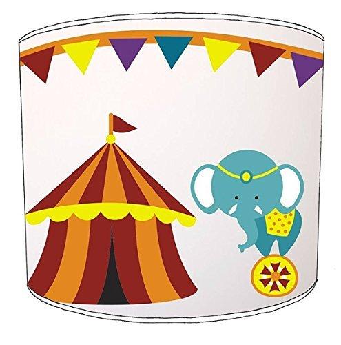 Premier Lampshades 30,5cm Tabelle Circus Tent Elephant Print Lampenschirme12 (Circus Lampenschirm)