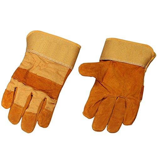 Moolo Feuerfeste Handschuhe Schweißhandschuhe Brandverhütung Verschleißfeste Hochtemperaturbeständigkeit Schweißer Isolierung Handschuhe (größe : A)