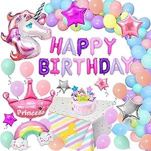 Unicornio Decoraciones Cumpleaños de Fiesta
