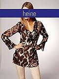 Heine Damen-Tunika Chiffon-Tunika Mehrfarbig Größe 40