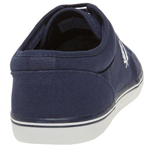 Fred Perry Stratford Canvas Herren Sneaker Blau Blau