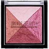 Swiss Beauty 2 Baked Blusher & Highlighter (7g, ColorSet-02)
