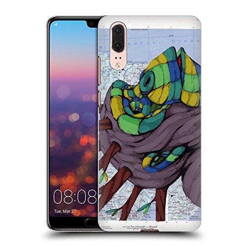 Head Case Designs Offizielle RIC Stultz Neugeist-Bewegung Tiere Ruckseite Hülle für Huawei P20