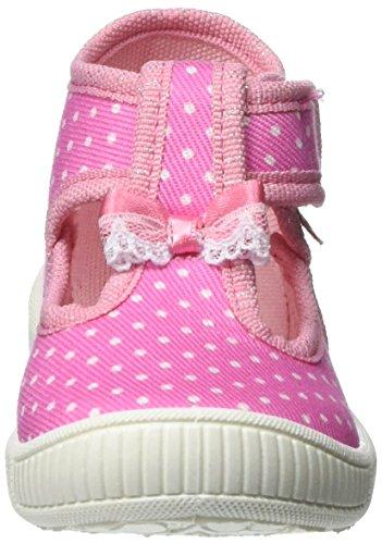 Superfit Mädchen Bully Hohe Hausschuhe Pink (lolly Kombi)