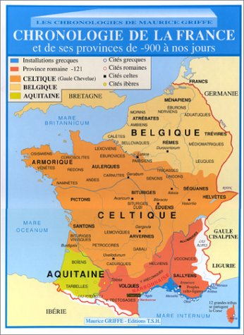 Chronologie de la France et de ses provinces de -900  nos jours