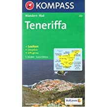 Tenerife, 1:50k carte de randonnée KOMPASS N ° 233
