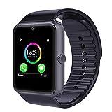 Smart Watch per Telefoni Android,YAMAY Bluetooth Smartwatch Telefono Touch Screen Orologio da Polso Fitness Watch con Sim Card Slot / Fotocamera / Pedometro / Tracker Sonno/ Telecomando Acquisizione/Notifiche Chiamate SMS Whatsapp Facebook Skype