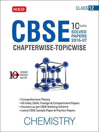 10 Years CBSE Chapterwise-Topicwise: Chemistry