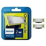 Philips QP220/50 OneBlade Lama di Ricambio, Confezione da 2 Pezz