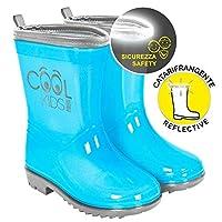 PERLETTI 15541 Boots Semi Transparent Turquoise, Multi Colour, One Size
