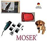 Rotschopf24 Edition: M0SER Hundeschermaschine FOX mit 4 Aufsätzen und Schere. 40039
