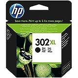 HP 302XL F6U68AE Cartuccia Originale per Stampanti HP a Getto di Inchiostro, Compatibile con HP DeskJet 1110; 2130 e 3630; HP OfficeJet 3830 e 4650; HP ENVY 4520, Nero