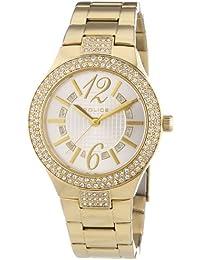 POLICE P13087MSG-04M - Reloj analógico de cuarzo para mujer con correa de acero inoxidable bañado, color dorado