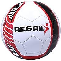 runacc PU de fútbol de trabajo estándar de fútbol de fútbol oficial, tamaño 5