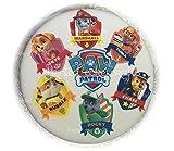 essbar 6x Paw Patrol Buttons 1x PAW PATROL Logo vorgeschnittenen Zuckerguss Cupcake/Kuchen Topper leicht Abziehen und Befestigen