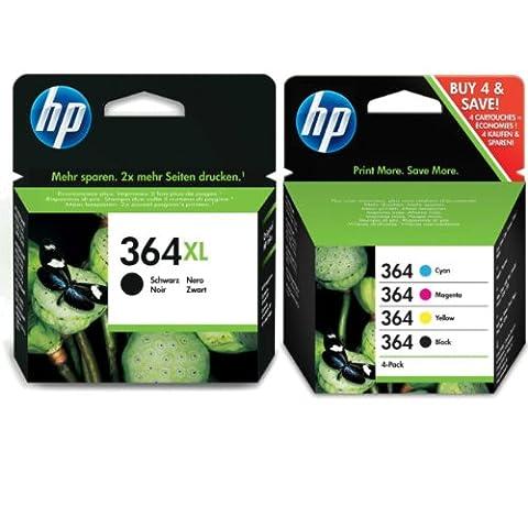 HP Lot de cartouches d'encre HP avec cartouches d'encre couleur