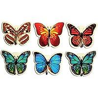 Amazonit Farfalle Decorative Legno Decorazioni Per Interni Casa E
