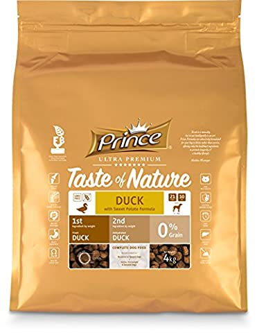 Prince Ultra Premium Croquettes Taste of Nature Canard & Patate Douce