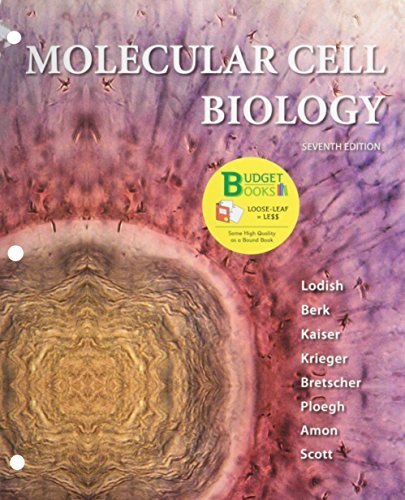 Molecular Cell Biology (Loose Leaf) & Portal Access Card by Harvey Lodish (2013-01-01)