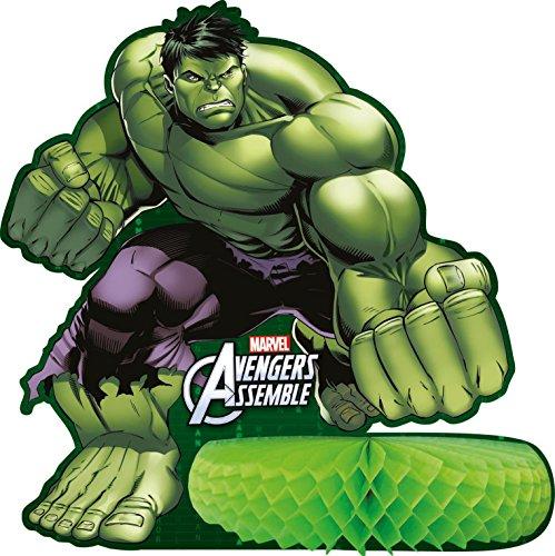 Marvel Los Vengadores niños superhéroes mesa de cumpleaños mesa de centro de...
