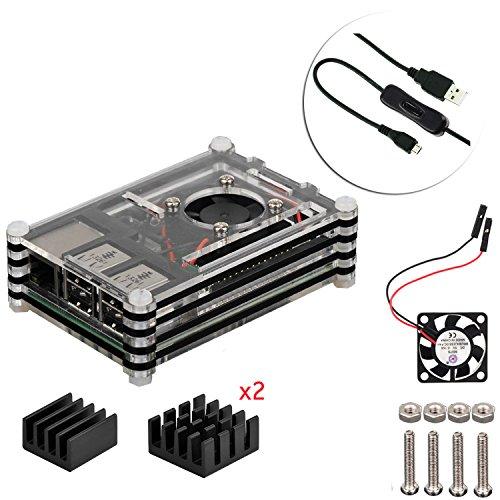 4 en 1 kit profesional para Raspberry Pi 3 & Raspberry Pi...