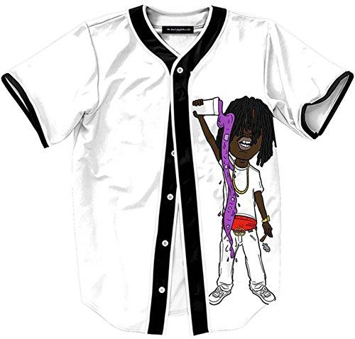 pizoff-herren-t-shirts-mit-knopfrundhalsausschnitt-kurze-armel-weiss-hip-hop-interessant-kuhle-unise