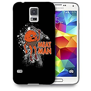 Snoogg Meat Man Designer Protective Back Case Cover For SAMSUNG GALAXY S5