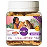 Spot's Stew Halo Purely for Pets Liv-a-Littles Protein Treats 100% Wild Salmon - 1.6 oz by