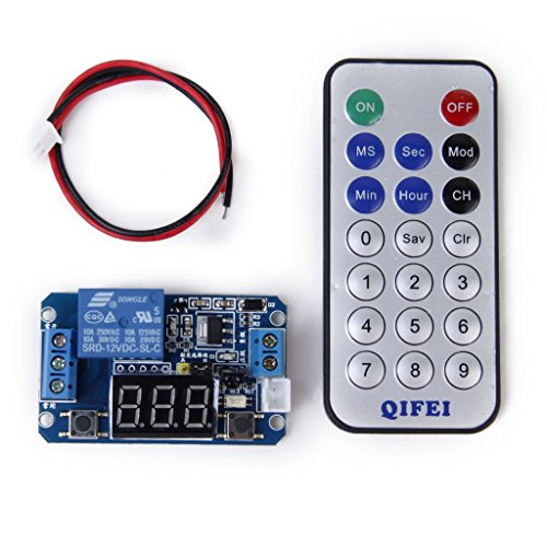 Multifunktionale Programmierbare Timer Relais Kontrolle Modul mit Fernbedienung - 12v Ac Timer Relais