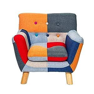 BGROEST Lehrstuhl für Kinder und Erwachsene Kinder-Sofa Armlehnstuhl Couch Kinder Wohnzimmer Kleinkind Möbel Stuhl…